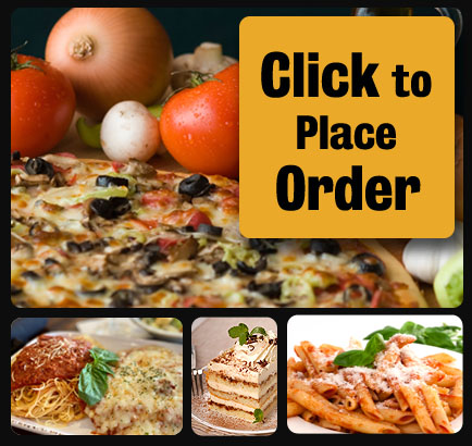 J. Christopher's Pizza-Pasta, made from scratch homemade pizza using fresh ingredients, thin crust is crispy and square cut, Chicago style deep dish available to order online.